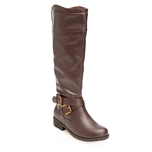 Passion boots DarkBrown B - orangeshine.com
