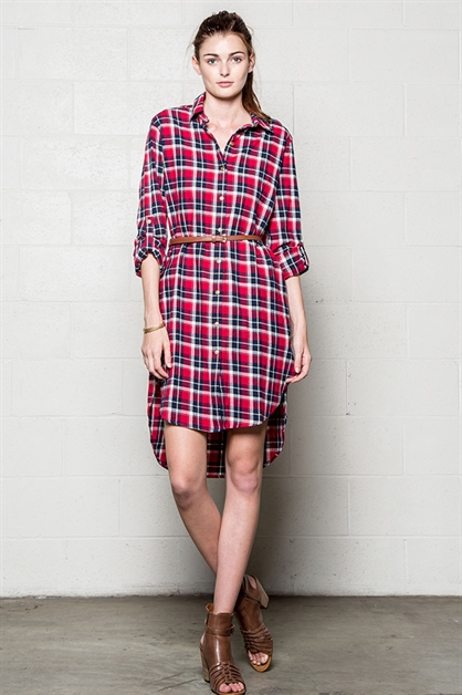 SHIRT DRESS - orangeshine.com