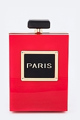 Perfume Bottle Fashion Clutch - orangeshine.com