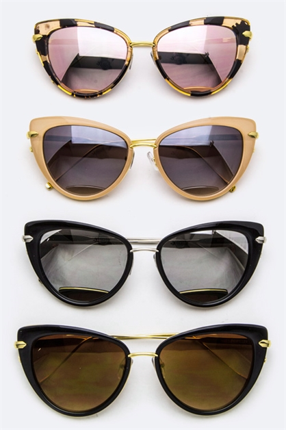 Fashion Cat Eye Sunglasses - orangeshine.com