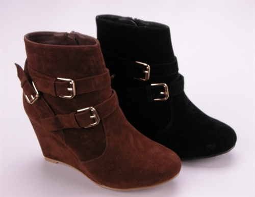 BOOTIE WITH BUCKLE - orangeshine.com