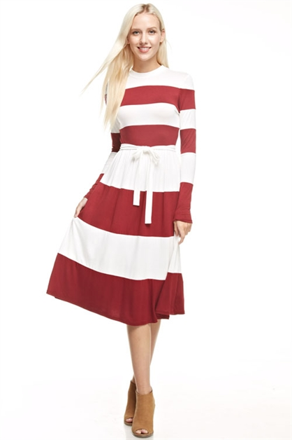2 color-blocked dress - orangeshine.com