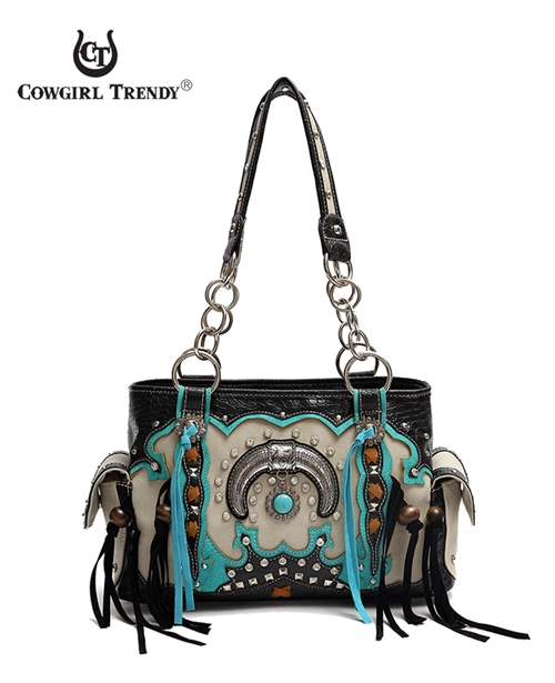 Fringe and Horn Western Bag - orangeshine.com