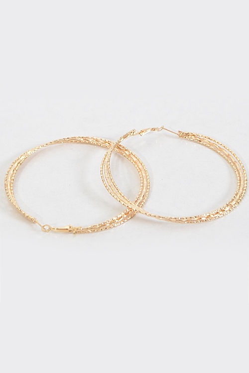Party Starter Hoop Earrings - orangeshine.com