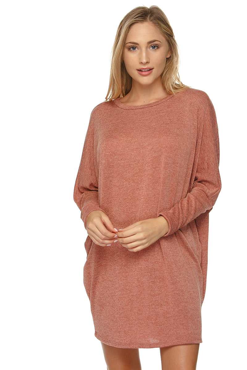 SWEATER LONG SLV TUNIC - orangeshine.com