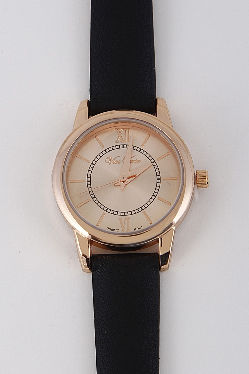 Trendy Fashionista Paris Watch - orangeshine.com