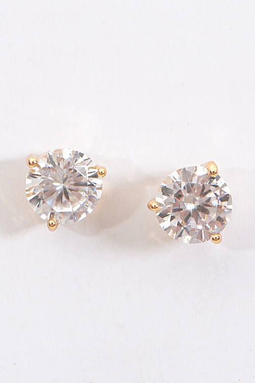 Formal Rhinestone Stud Earring - orangeshine.com