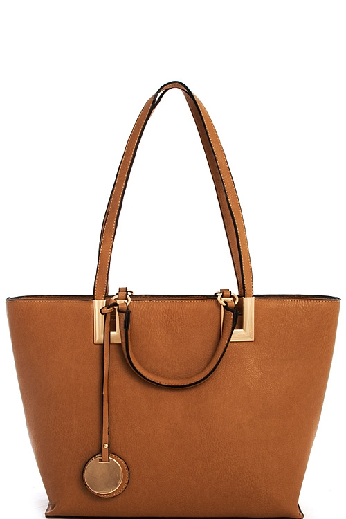 Fashion Double Strap Shopper - orangeshine.com