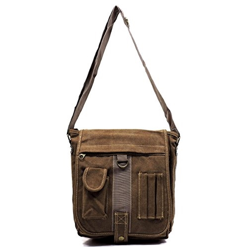 Military Canvas Messenger Bag - orangeshine.com