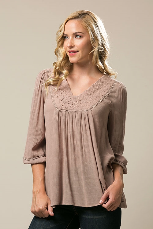 embroidery tunic - orangeshine.com