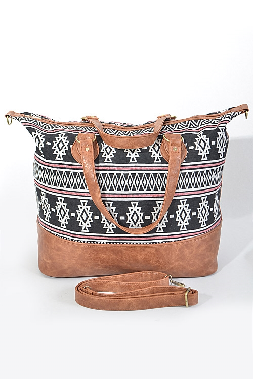 Trendy Multi Patterned Bag  - orangeshine.com