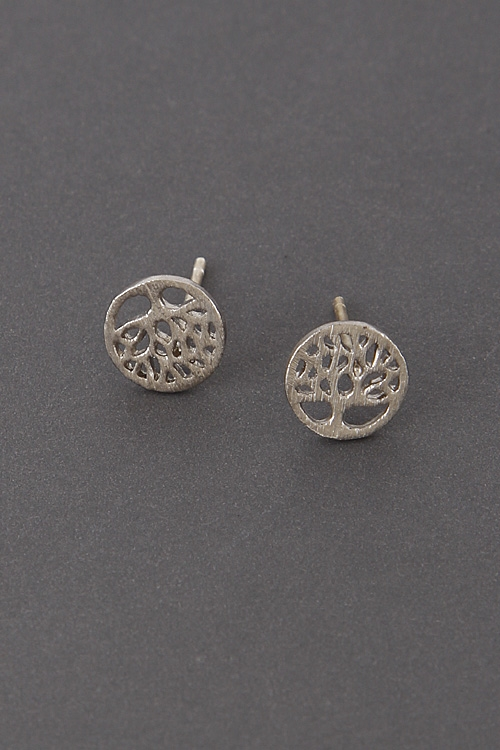 Simple Tree Branch Earrings - orangeshine.com