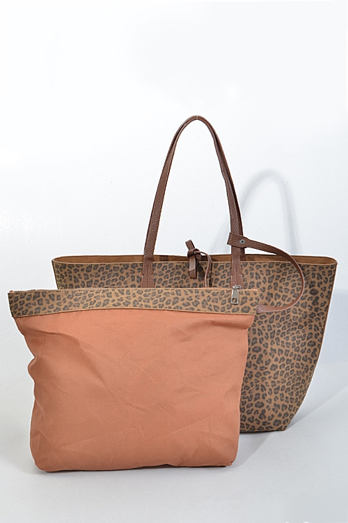 Cheetah Inspired Hand Bag Set - orangeshine.com