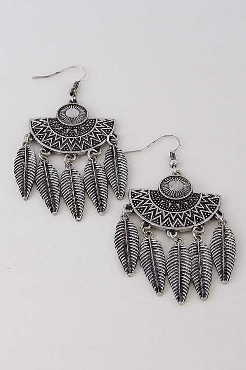 Antique Tribal Earrings - orangeshine.com