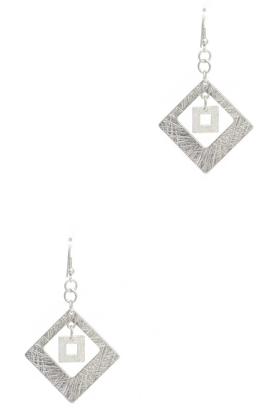 DIAMOND SHAPE EARRING - orangeshine.com