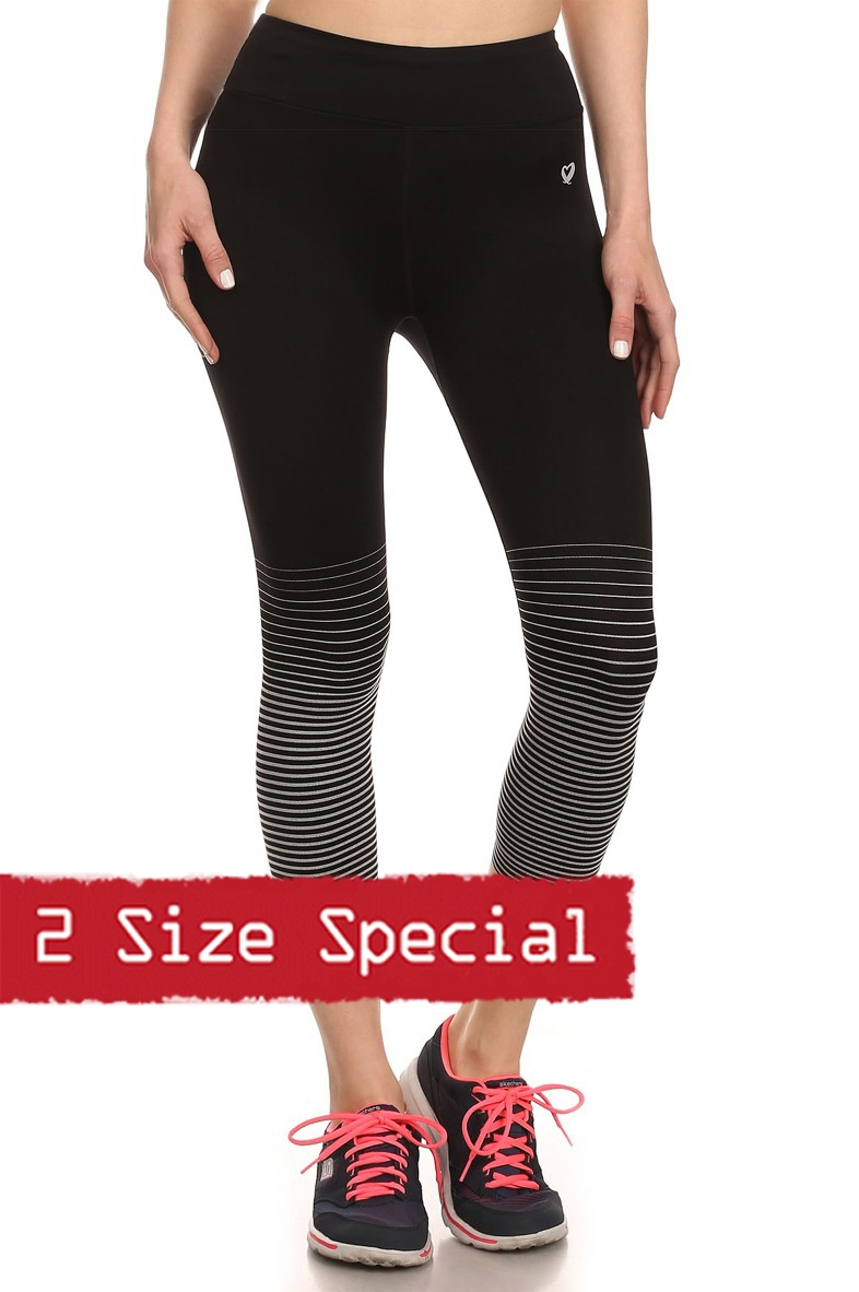 Special Active Capri leggings - orangeshine.com