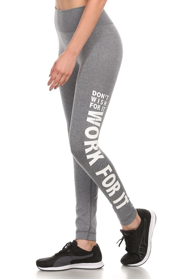 Active Sport Legging Grey work - orangeshine.com