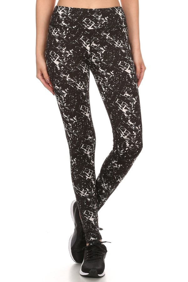 Running Leggings Black Pants  - orangeshine.com