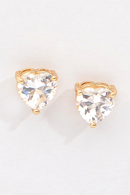 Heart Formal Earrings - orangeshine.com