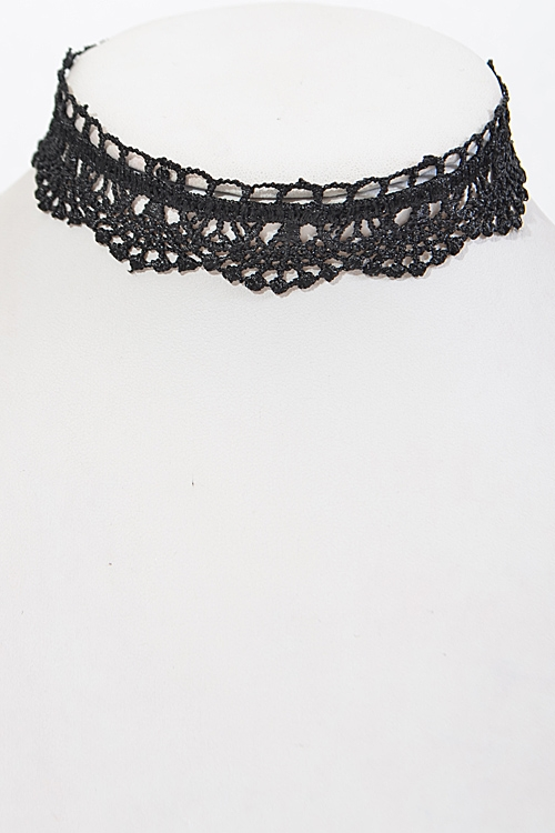 Lacy Choker with Dips - orangeshine.com