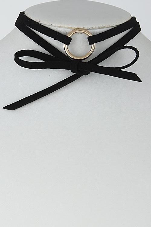 Thin Ribbon with Circle - orangeshine.com