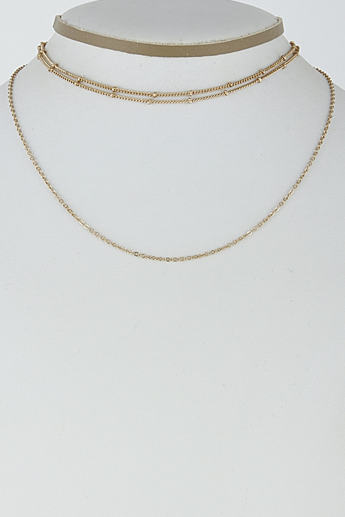 Simple Trendy Choker Set - orangeshine.com