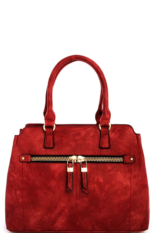Designer Chic Fashion Satchel - orangeshine.com
