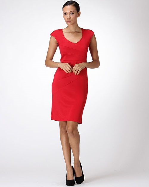 SIDE CUTS DRESS - orangeshine.com