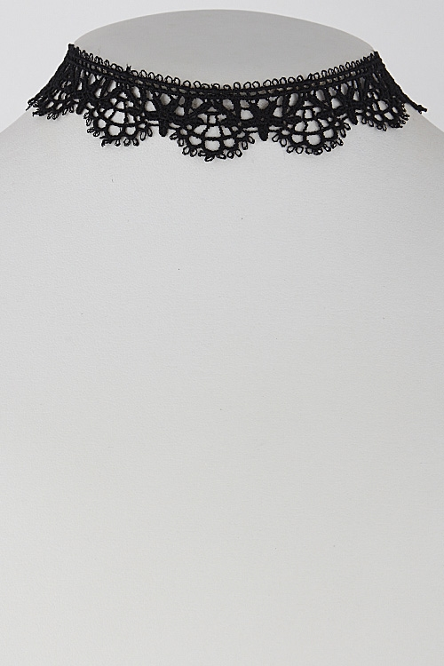 Star Fish Inspired Lacy Choker - orangeshine.com