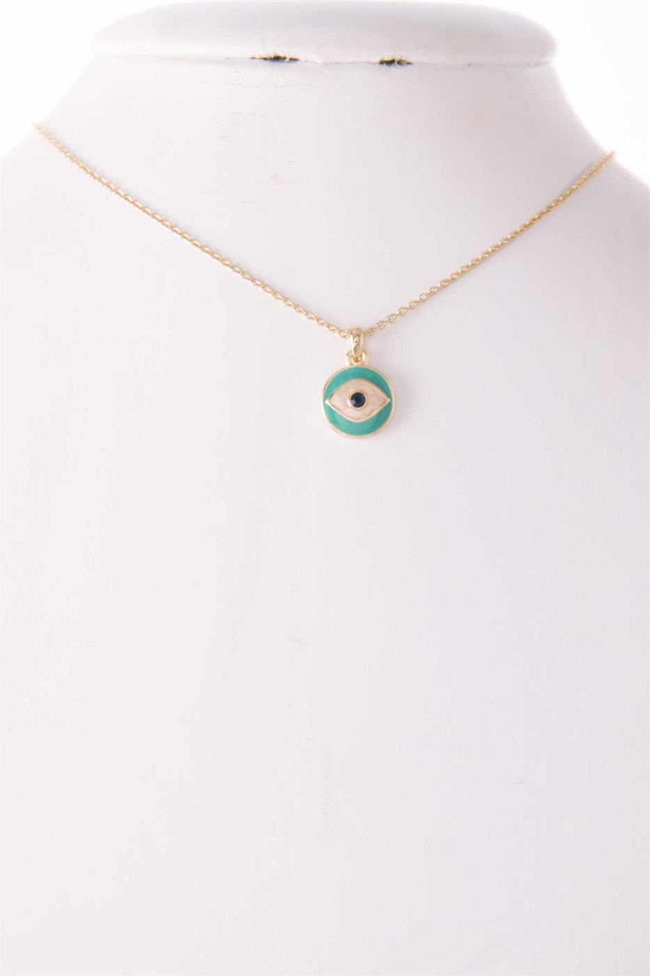 EVIL EYE PENDANT NECKLACE - orangeshine.com