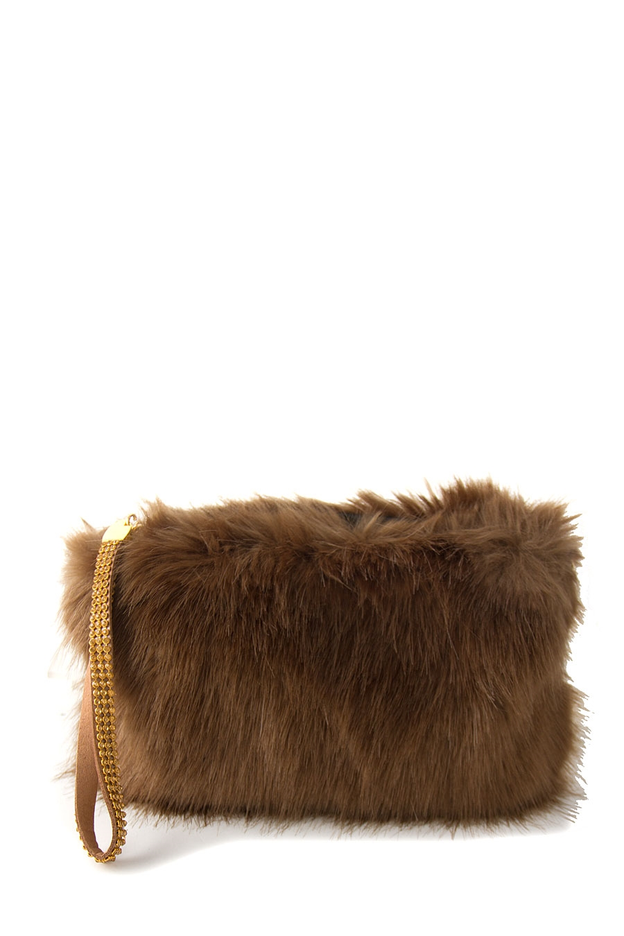 FASHION FAUX FUR CLUTCH - orangeshine.com