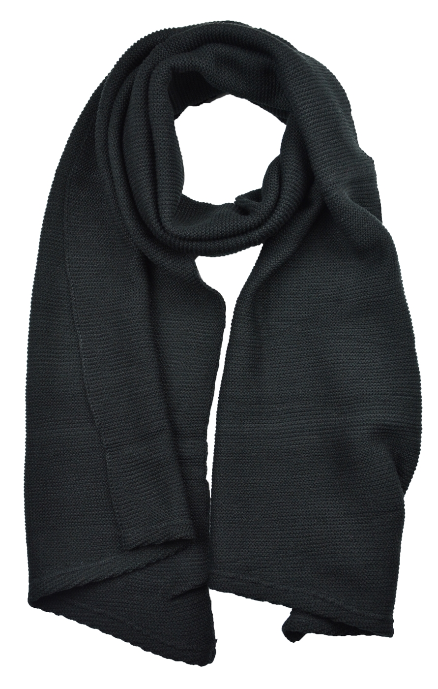 Knit Solid Color Scarf - orangeshine.com