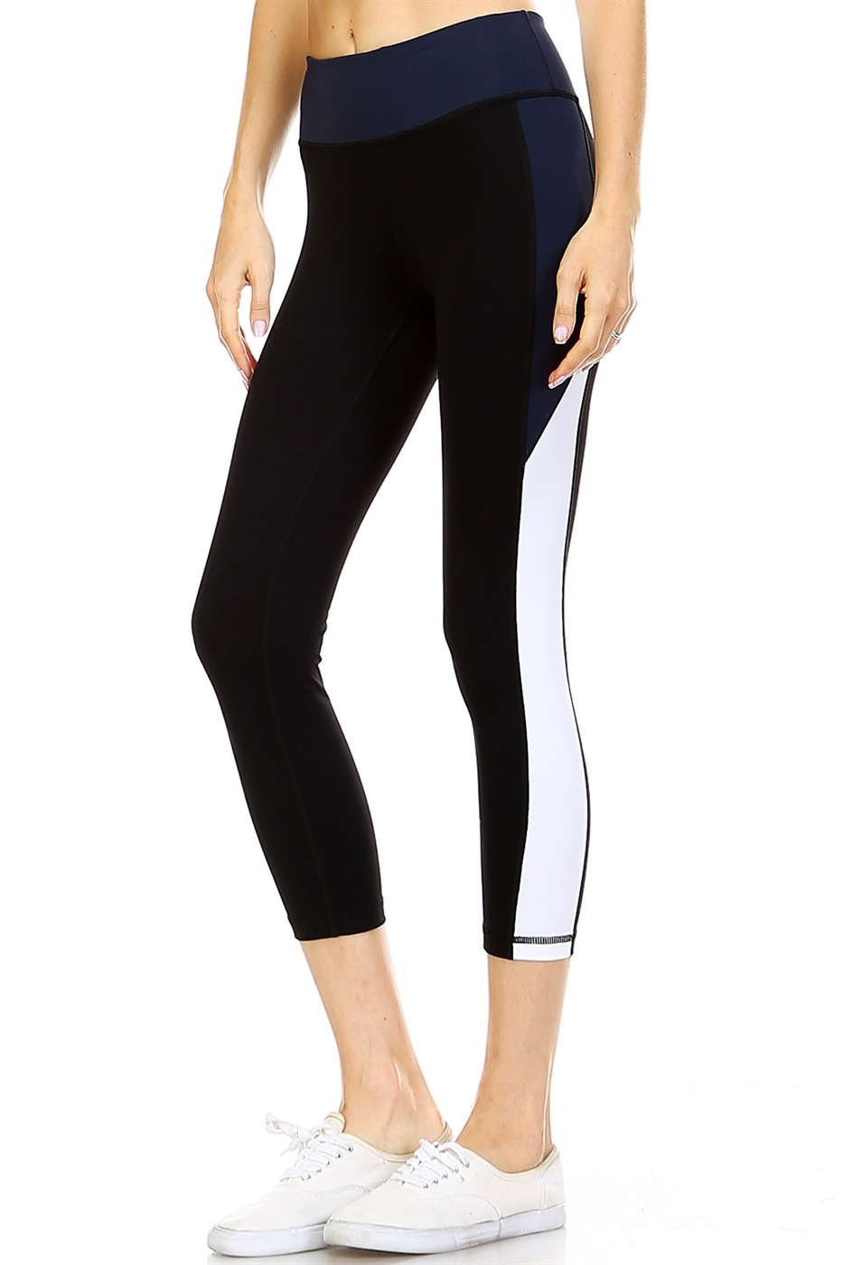 COLORBLOCK LEGGINS - orangeshine.com