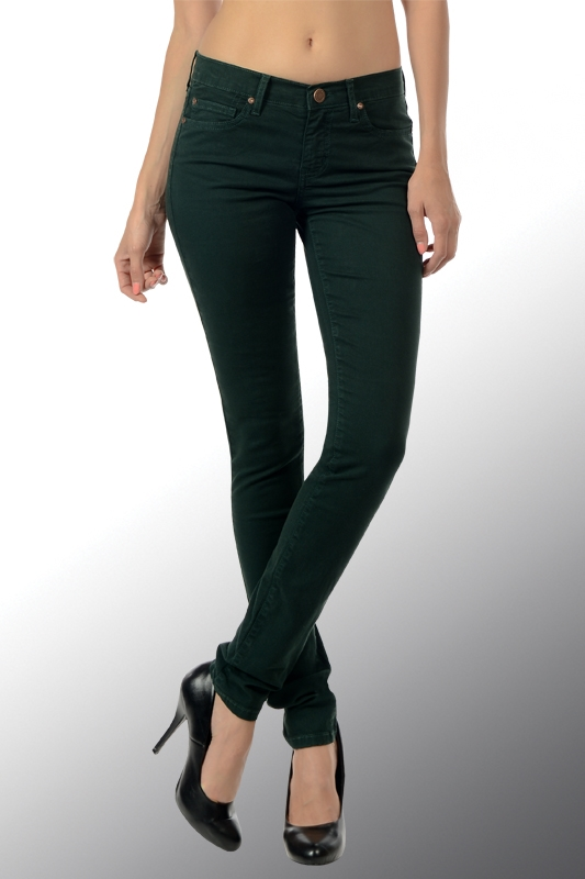 COLOR SKINNY JEANS - orangeshine.com