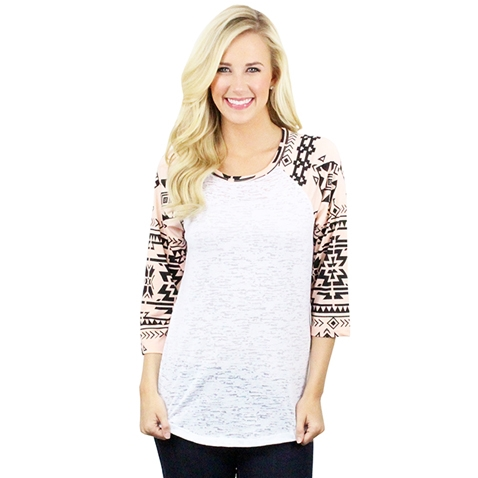 Burnout with Aztec Sleeves - orangeshine.com