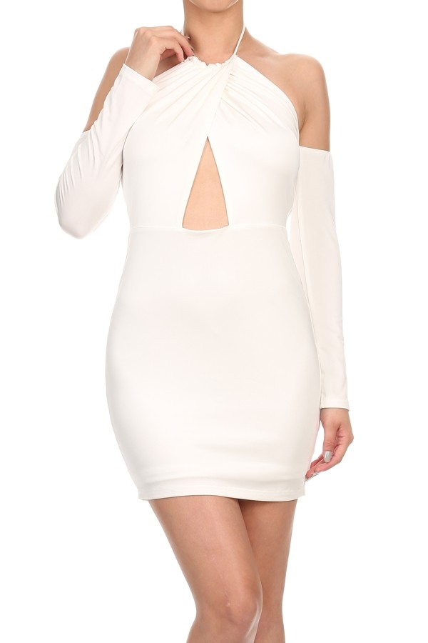 Short Dress Body-con Style - orangeshine.com