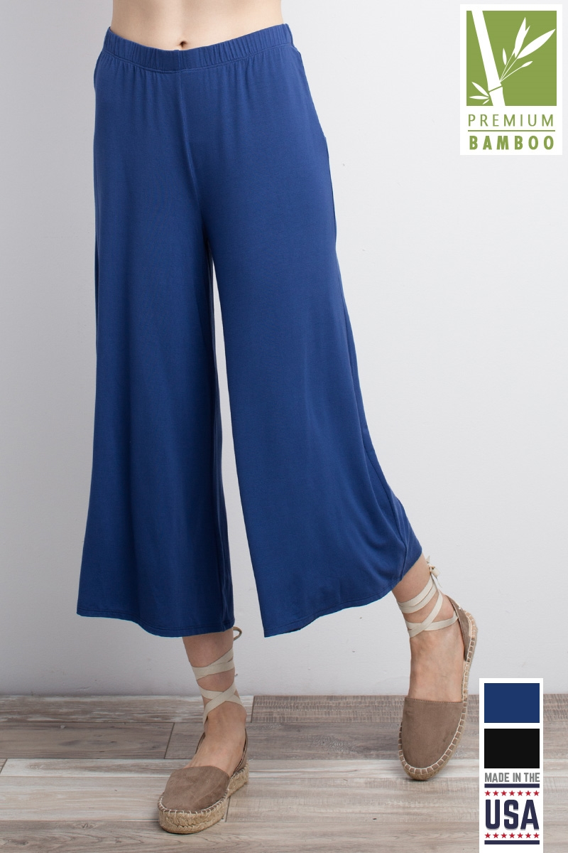 FLARE CROPPED PANTS - orangeshine.com