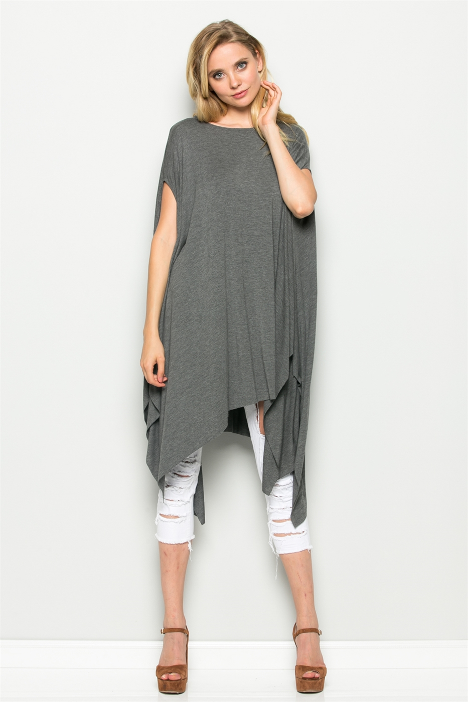 OVERSIZED HEM TOP - orangeshine.com