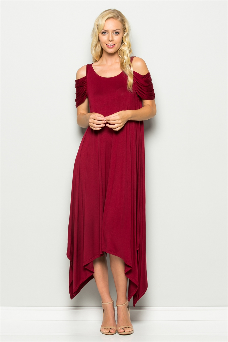 HANKY HEMLINE DRESS - orangeshine.com