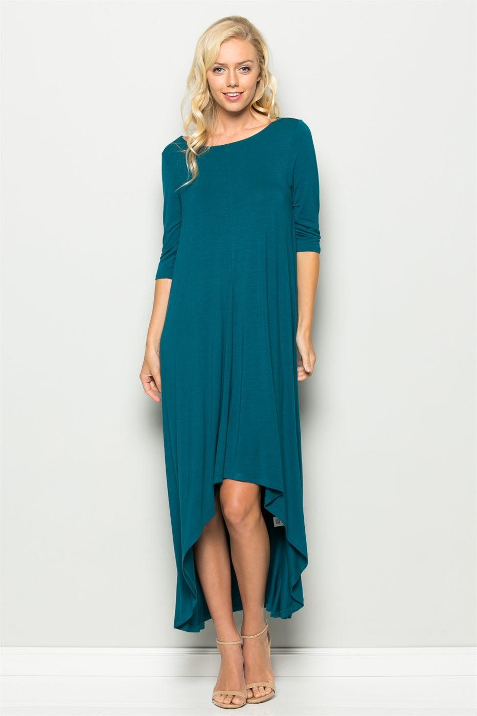 3/4 SLEEVE DRESS - orangeshine.com