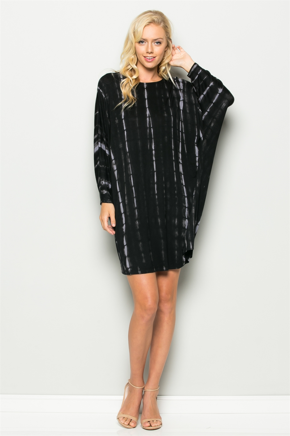 TIE DYE TUNIC DRESS - orangeshine.com