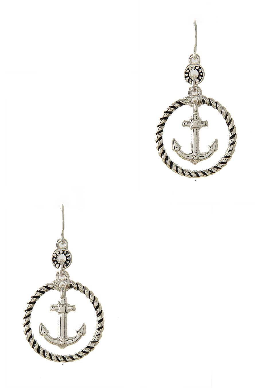 ANCHOR DANGLE EARRING - orangeshine.com