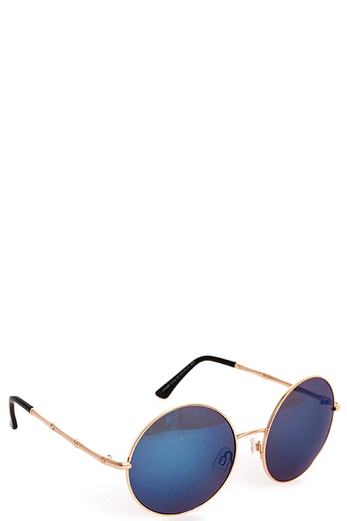 Fashion Round Sunglasses - orangeshine.com
