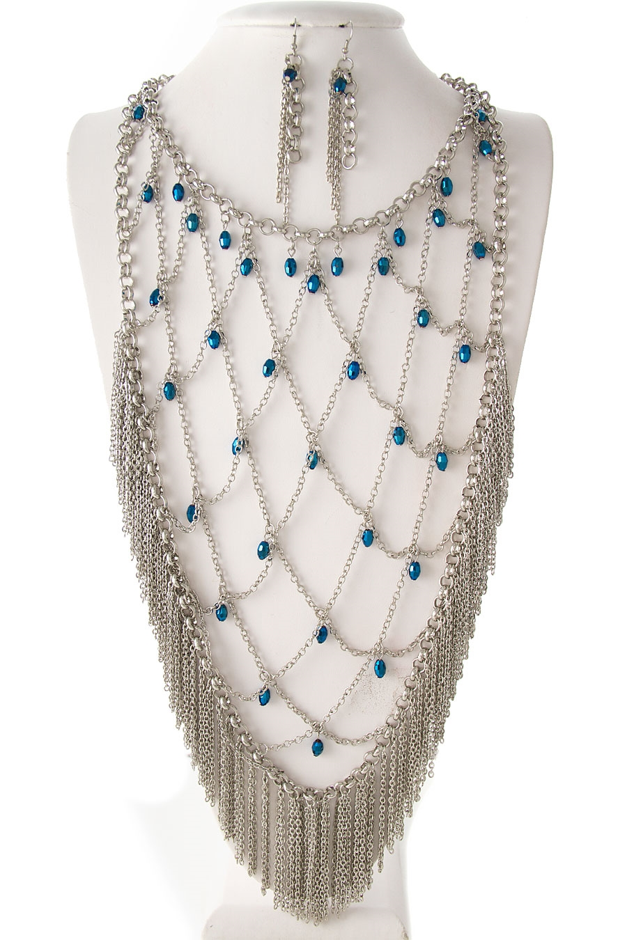 FRINGE DROP NECKLACE - orangeshine.com