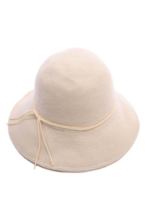 WOOL ANGORA BUCKET HAT - orangeshine.com