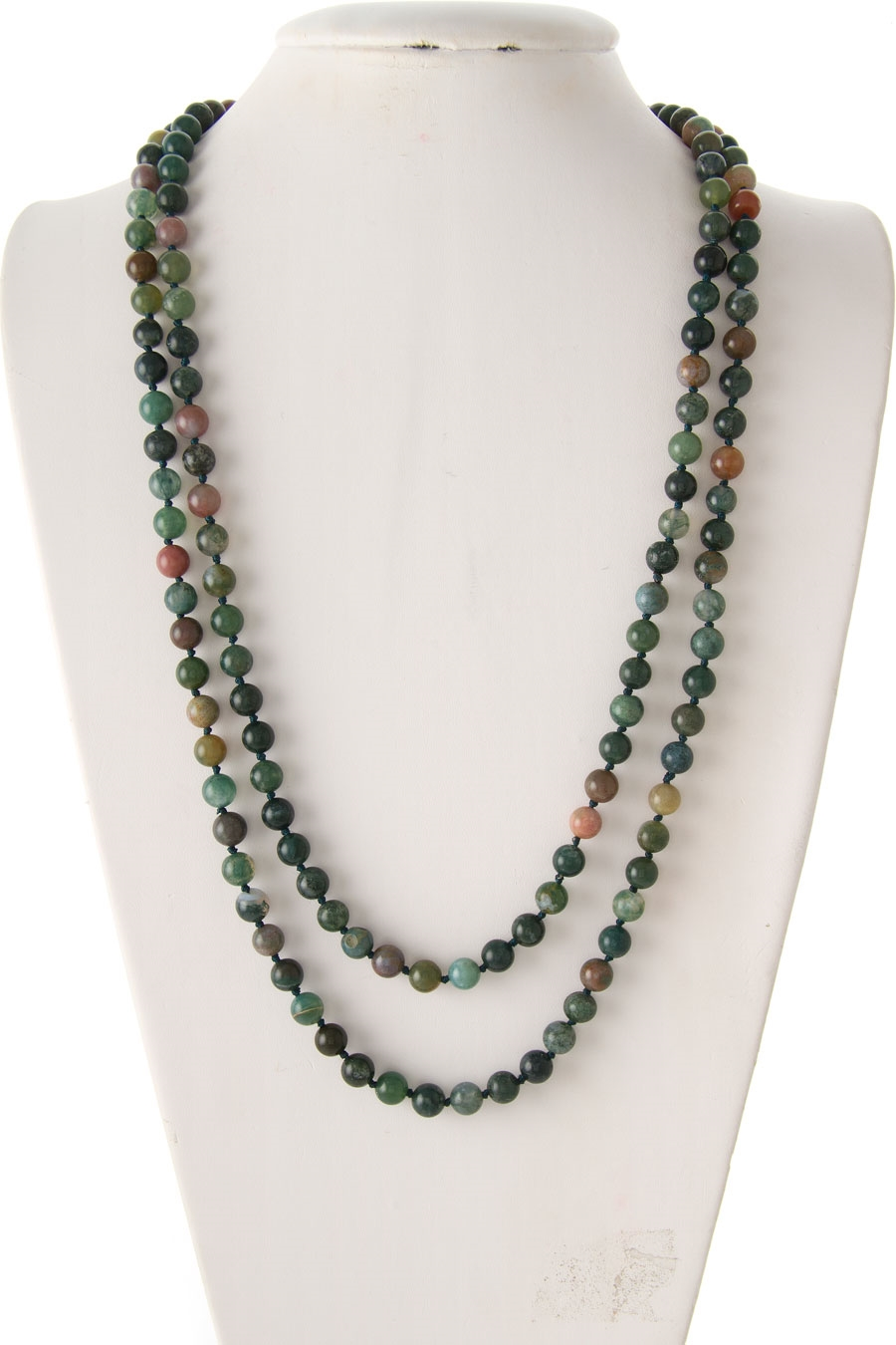 KNOTTED AGATE STONE NECKLACE - orangeshine.com