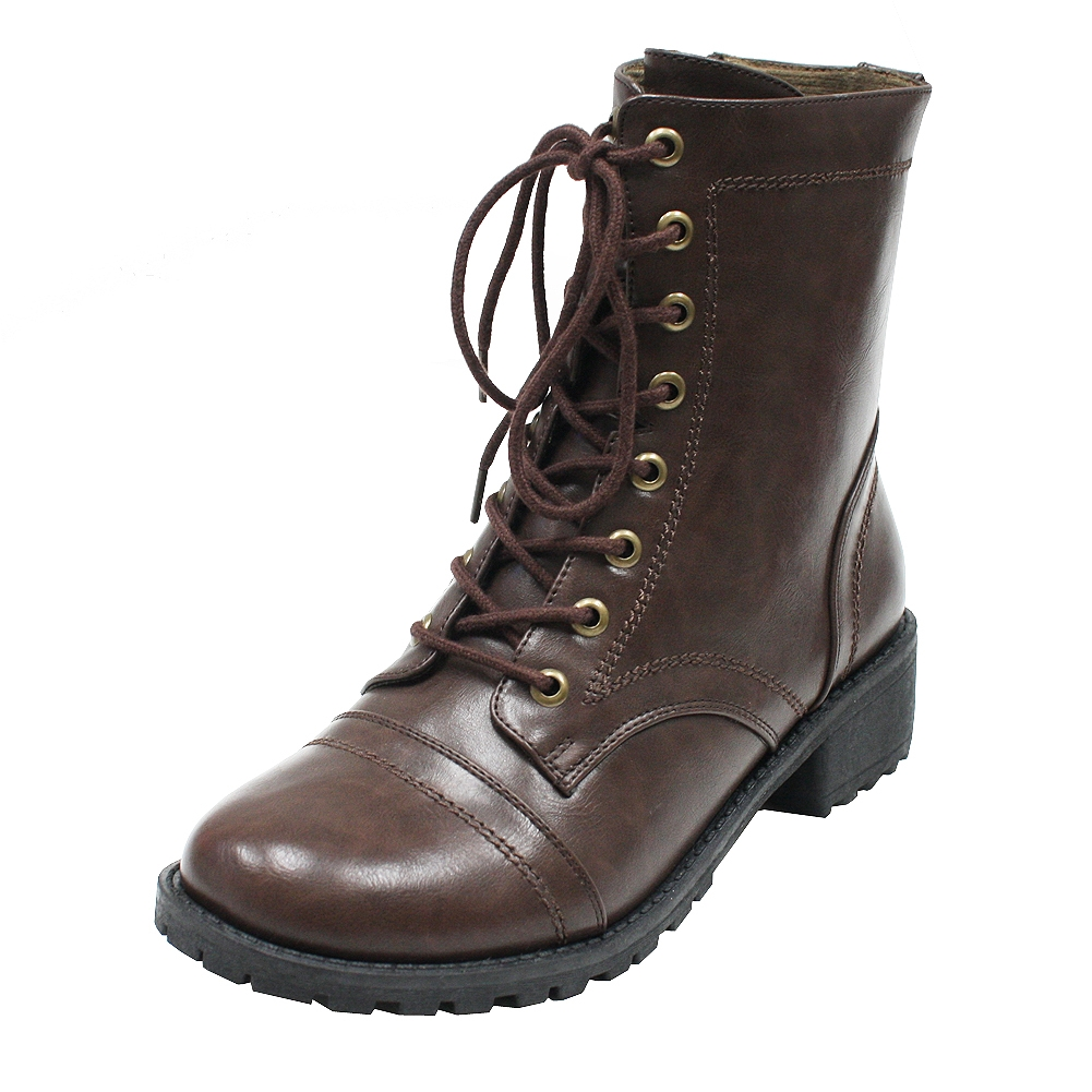 Ranch boots DarkBrown C - orangeshine.com