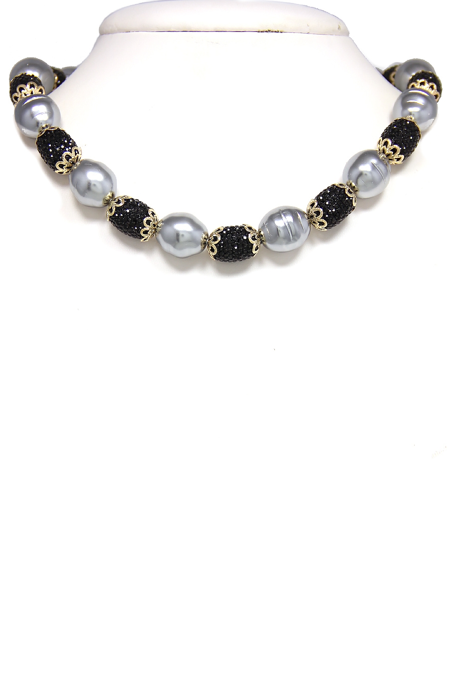 FANCY PEARL DIAMOND NECKLACE - orangeshine.com