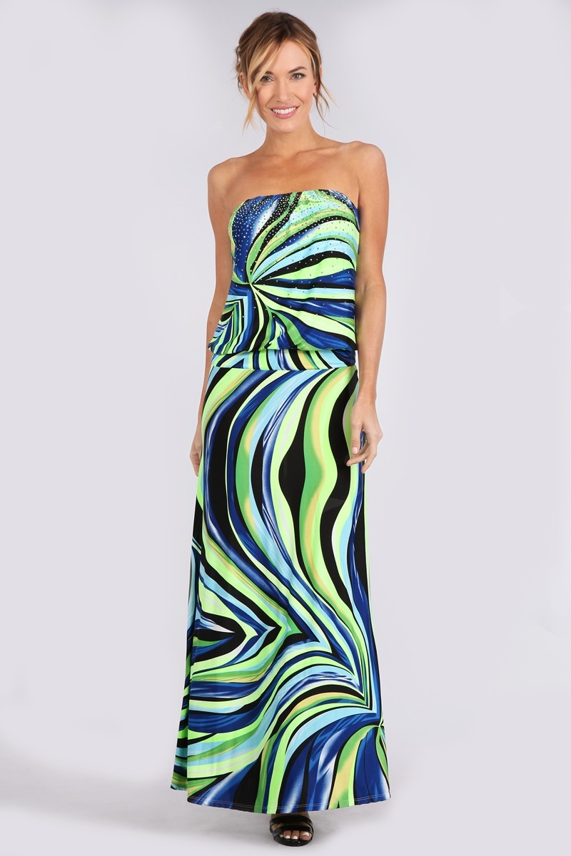 TUBE BAND SUBUGI MAXI DRESS - orangeshine.com