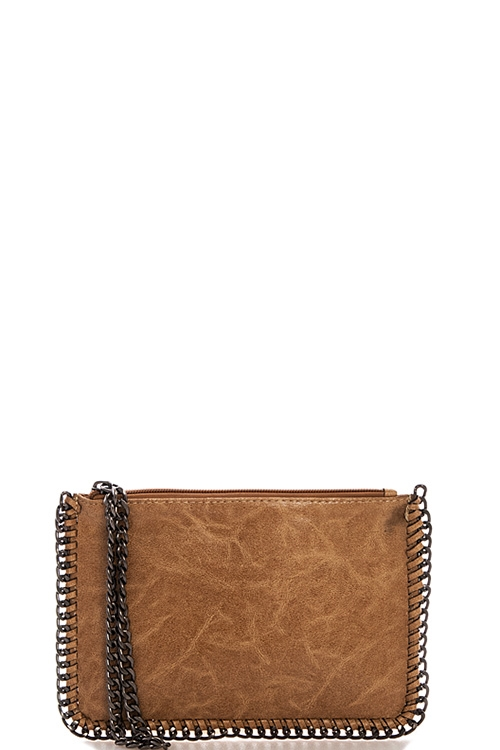 Trendy Fashion Chained Clutch - orangeshine.com